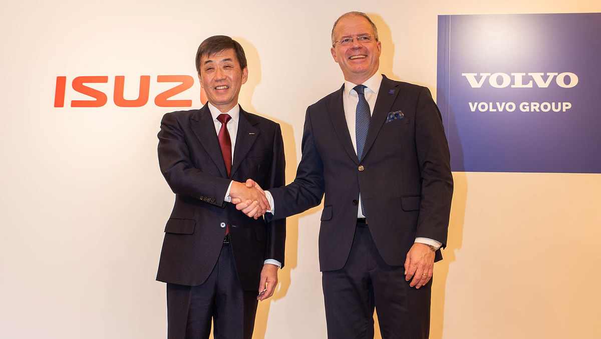 Isuzu Motors & Volvo Group to Form Strategic Alliance