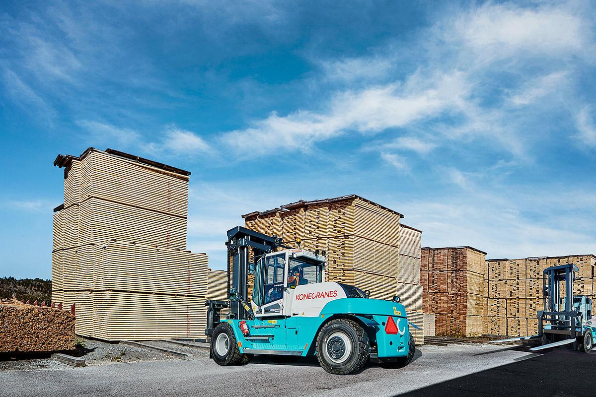 Konecranes Forklifts Go Electric
