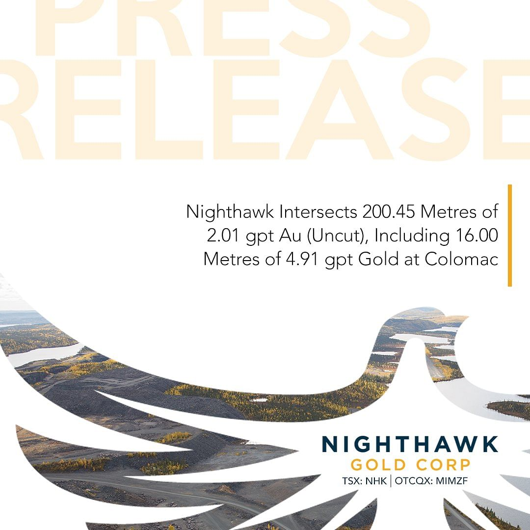 Nighthawk Gold Drilling Update for Colomac Gold Project