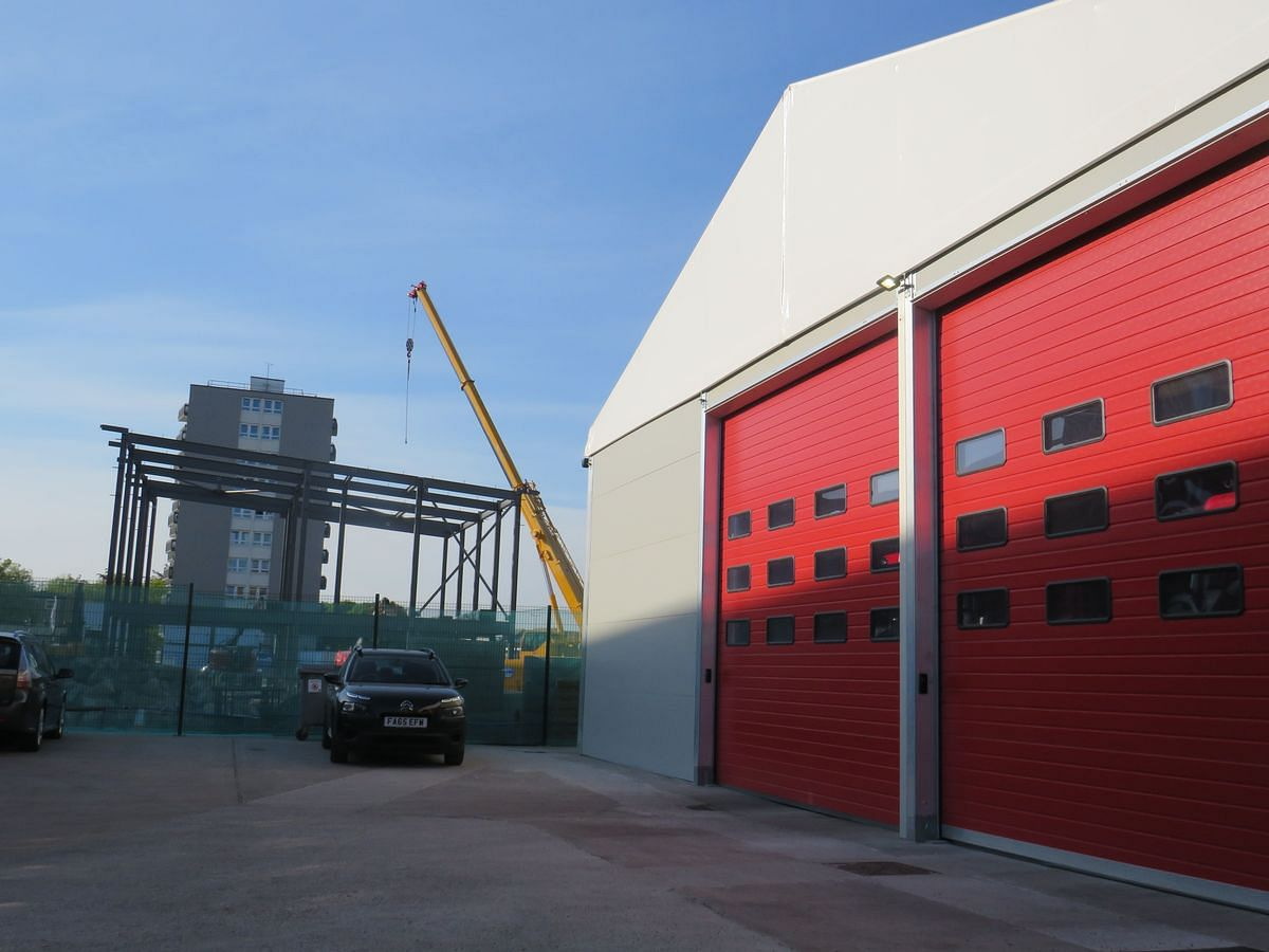 Chester Fire Station Completion Date on Track - ISG