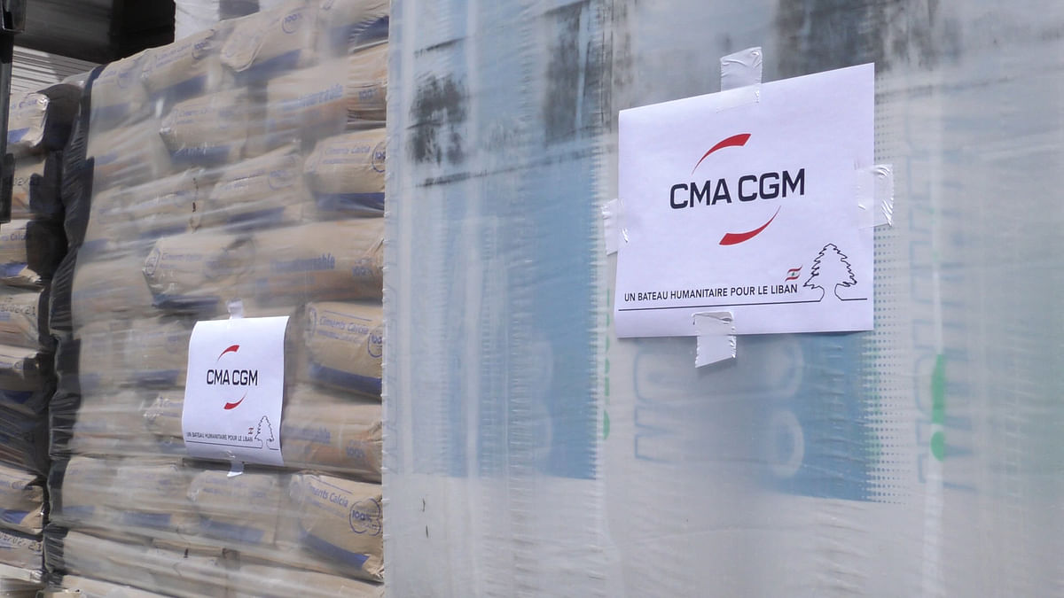 CMA CGM Foundation Ships 32 Containers to Beirut