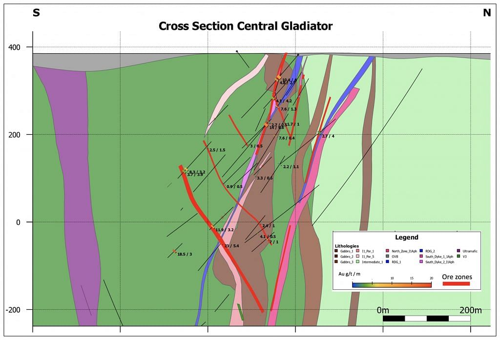 Bonterra Resources Drill Results at Gladiator Project