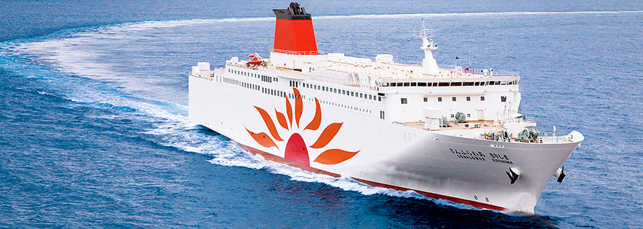 MOL Ferry Sunflower to Build 2 Newbuilding Ro-Pax Ferries