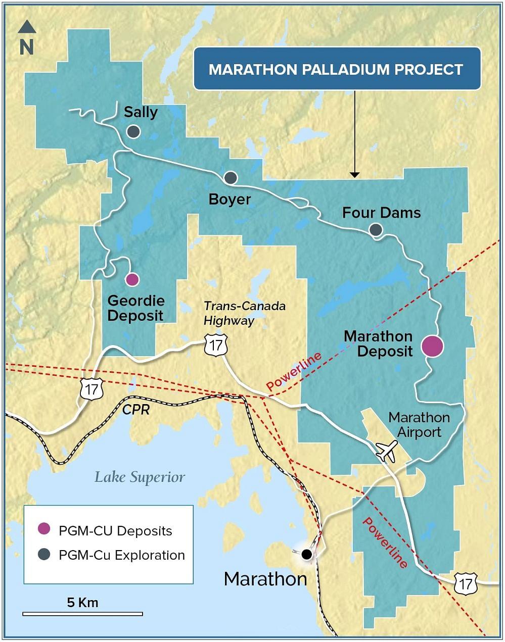Generation Mining Palladium Mineralization at Marathon Deposit