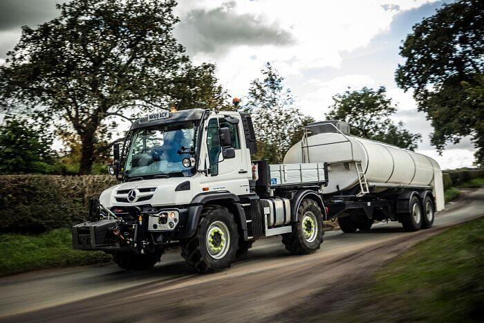 Unimog Delivers Milk & Cost Savings