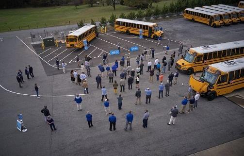 Thomas Built Proterra Powered Electric School Buses in Virginia