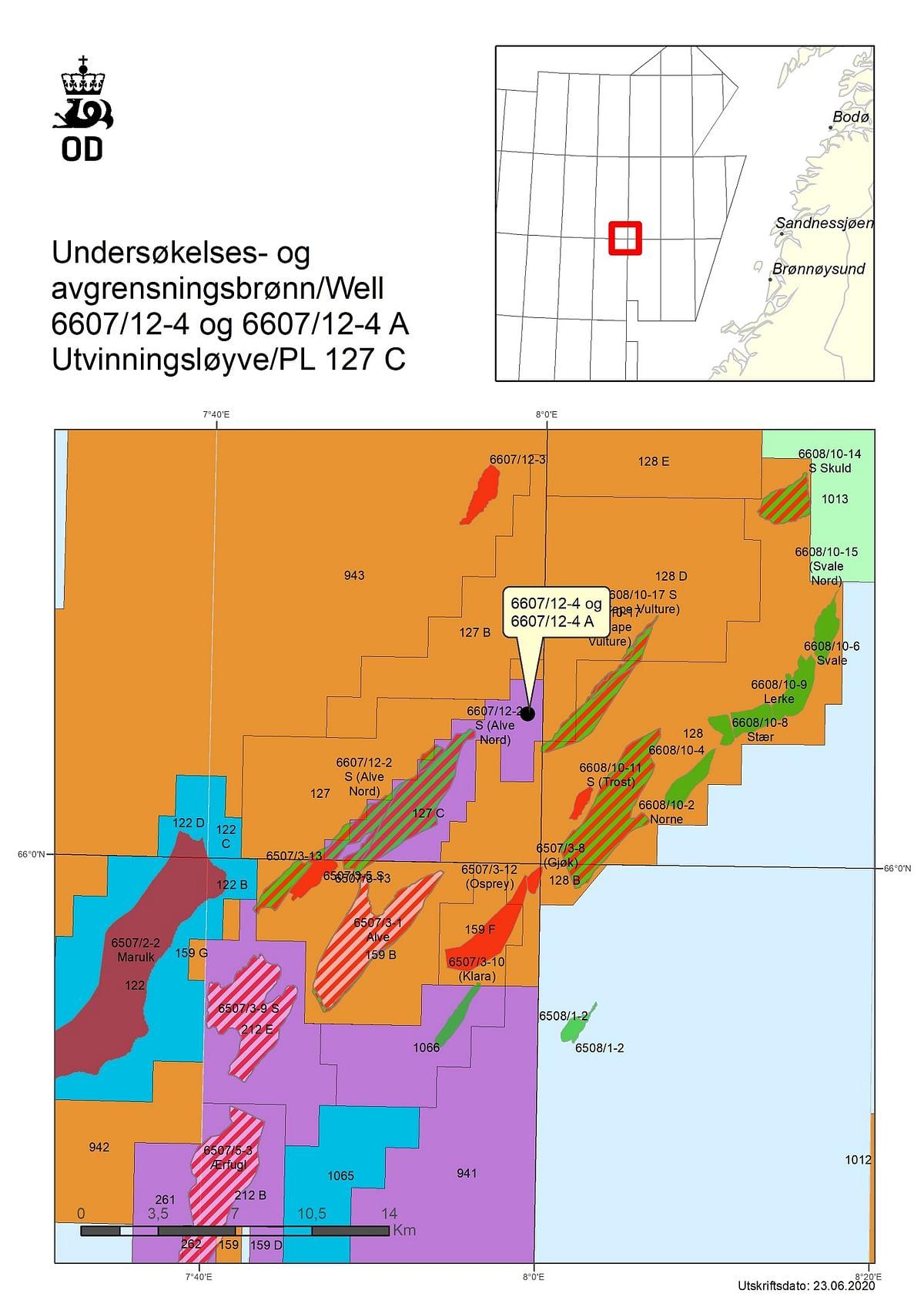 Aker BP Discovers Gas & Oil near Alve Nord in Norwegian Sea