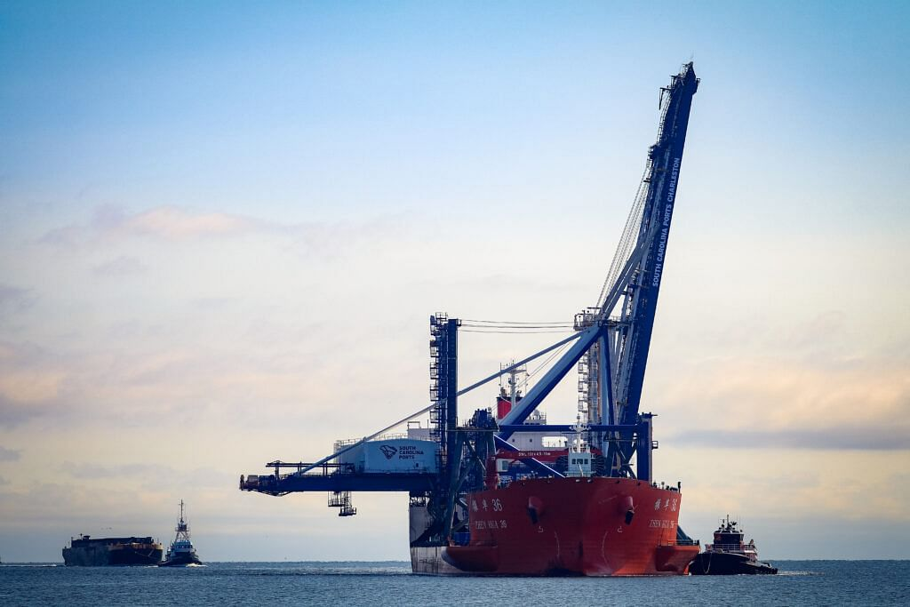 SC Ports Welcomes Two New Ship to Shore Cranes