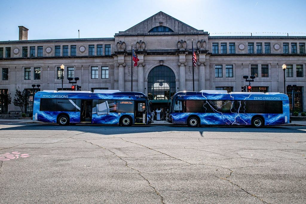 BYD Electric Buses tofor Macon-Bibb County Transit Authority