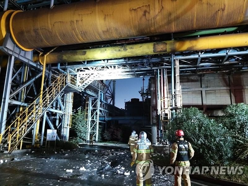 3 Workers Killed in Explosion at POSCO Gwangyang Plant