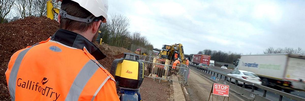 Galliford Try Highways Team Starts M56 Upgrade