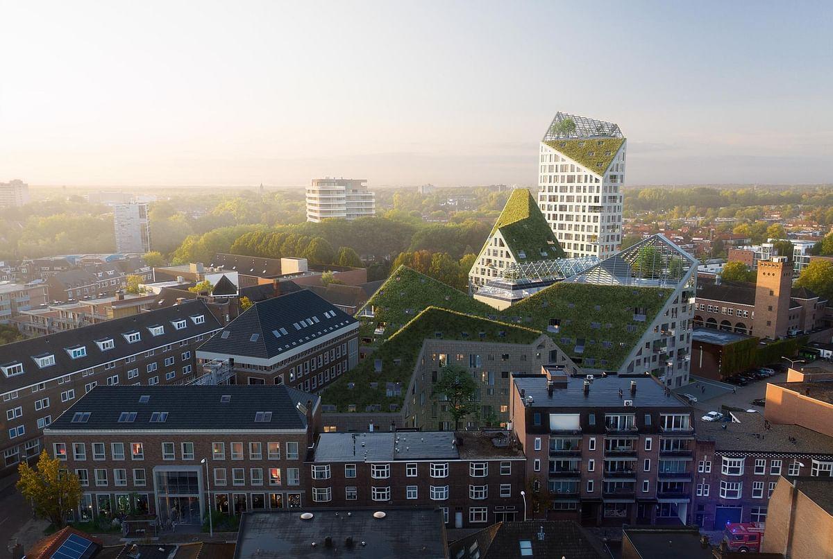 7 Buildings of Nieuw Bergen Named in Eindhoven