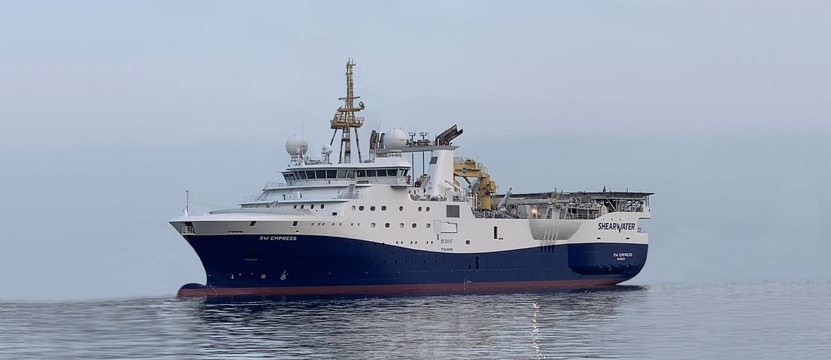 Shearwater GeoServices Bags Senegal 3D Contract of Total