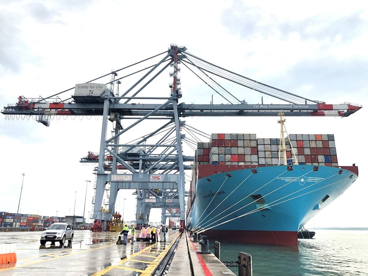CMIT Receives Largest Container Vessel in Vietnam's History