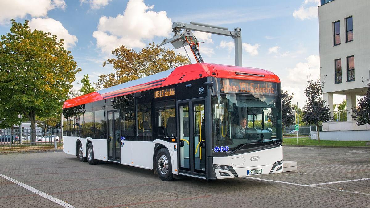 Solaris Unveils Urbino 15 LE Electric