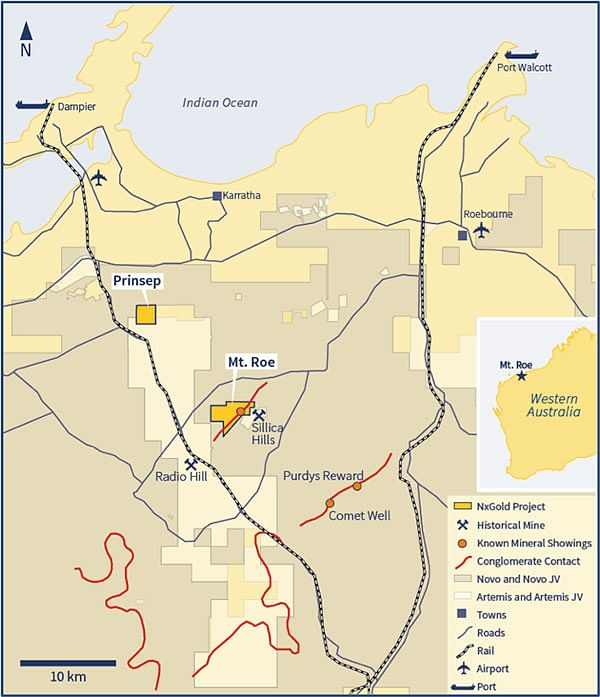 International Consolidated Uranium Mt Roe Project in WA