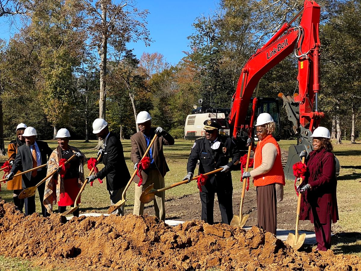 Greenwood Community Park Breaks Ground on Phase I