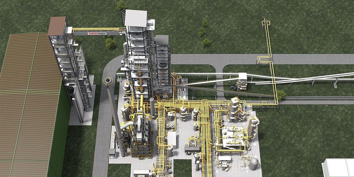 HBIS Orders 600KT Green Energiron DRI Plant