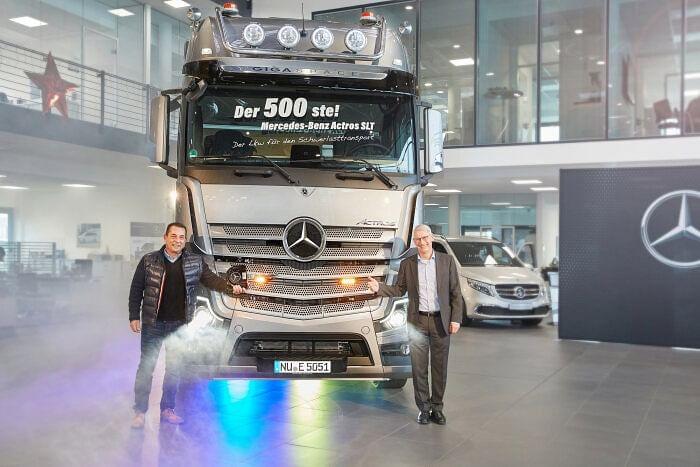 Mercedes Benz Actros SLT Heavy Duty Tractor Unit for TSB Transport