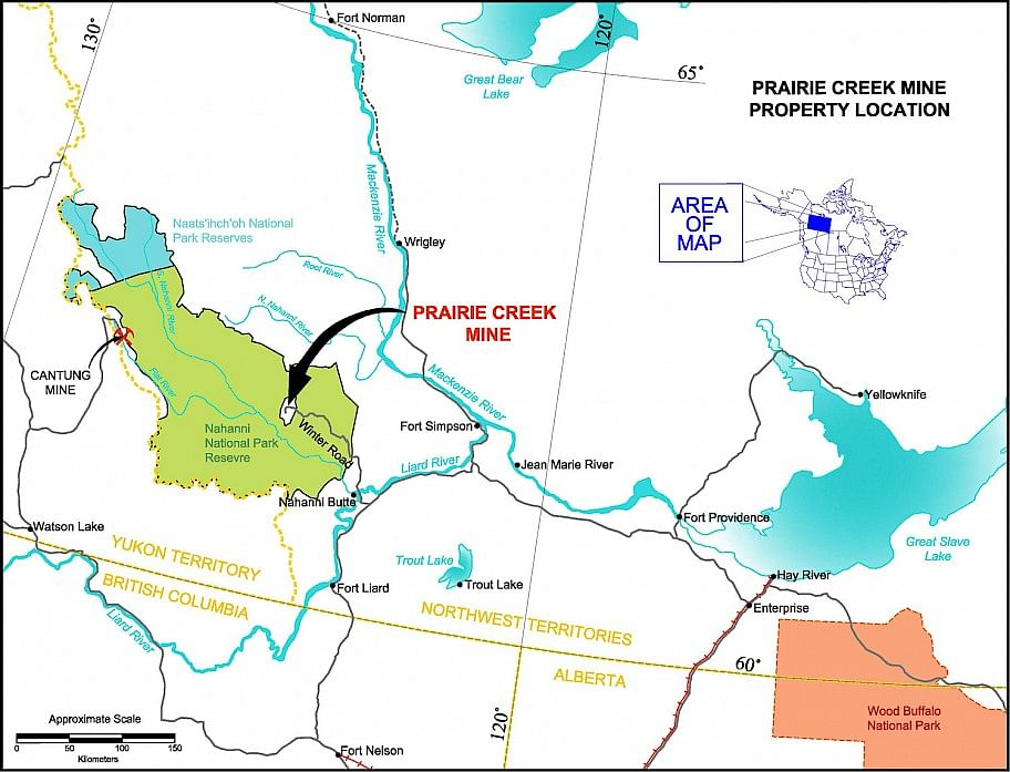 Norzinc Drilling Update on Prairie Creek Mine