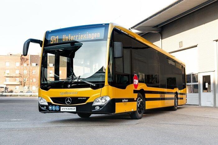 Omnibusverkehr Spillmann Customizing Mercedes-Benz Citaro Buses