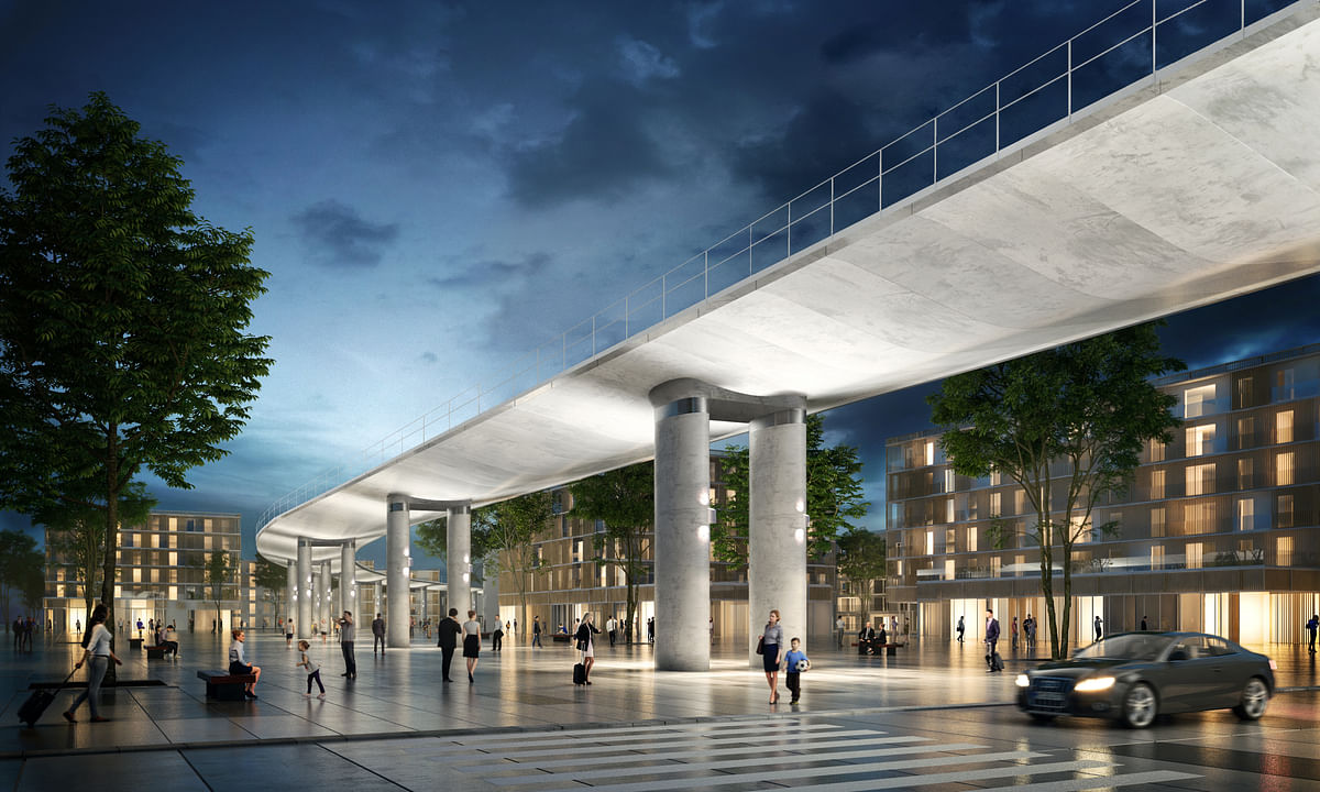VINCI to build Viaduct for Metro Line 18 of Grand Paris Express