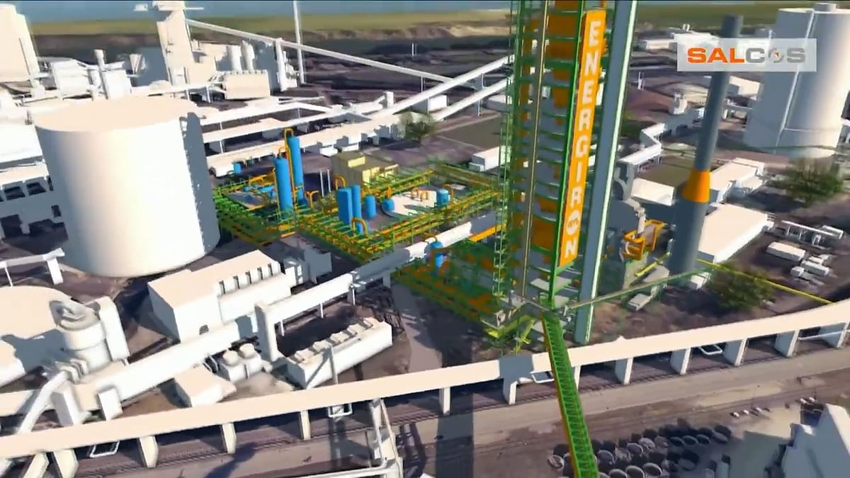 H2 DRI Plant for Salzgitter Flachstahl in Germany