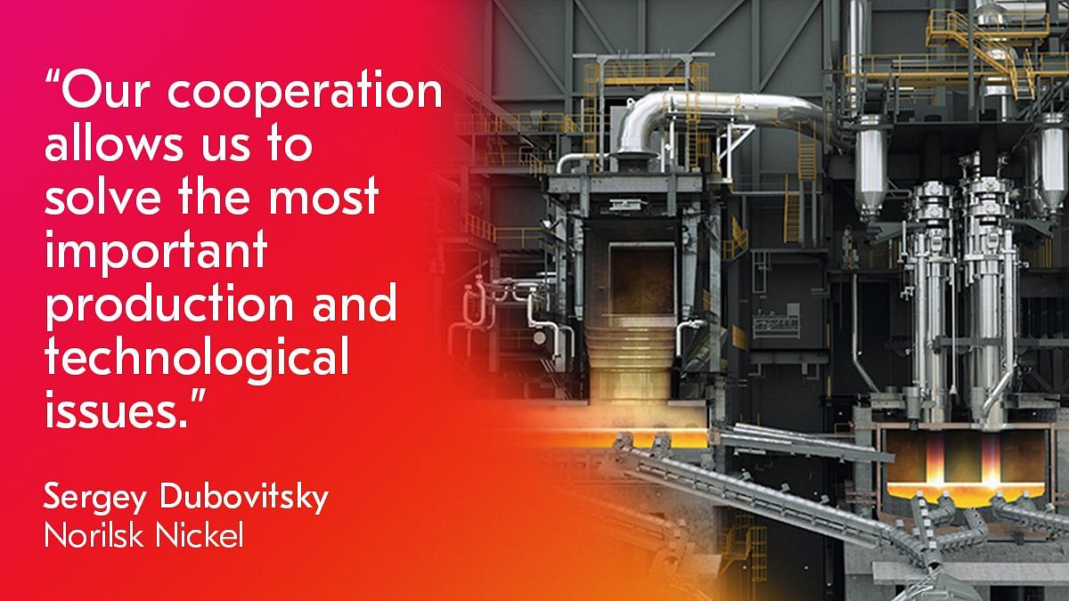 Metso Outotec to Modernize Nornickel Smelting Line in Russia
