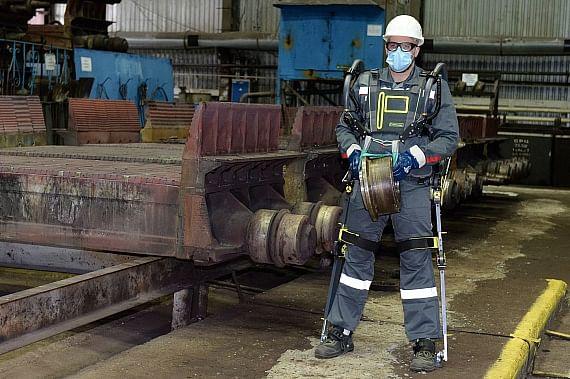 Metalloinvest Lebedinsky GOK Testing Exoskeletons