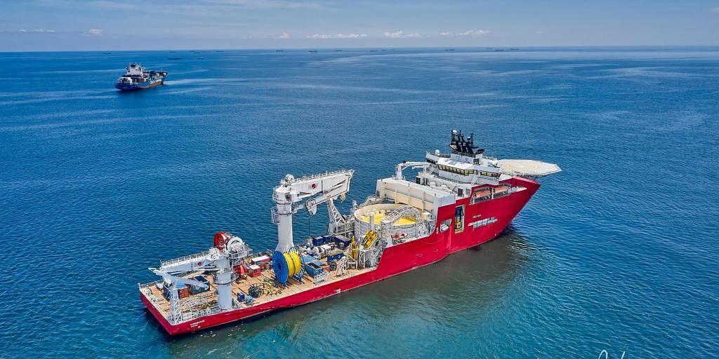 Jan De Nul Acquires Ocean Yield's Vessel Connector