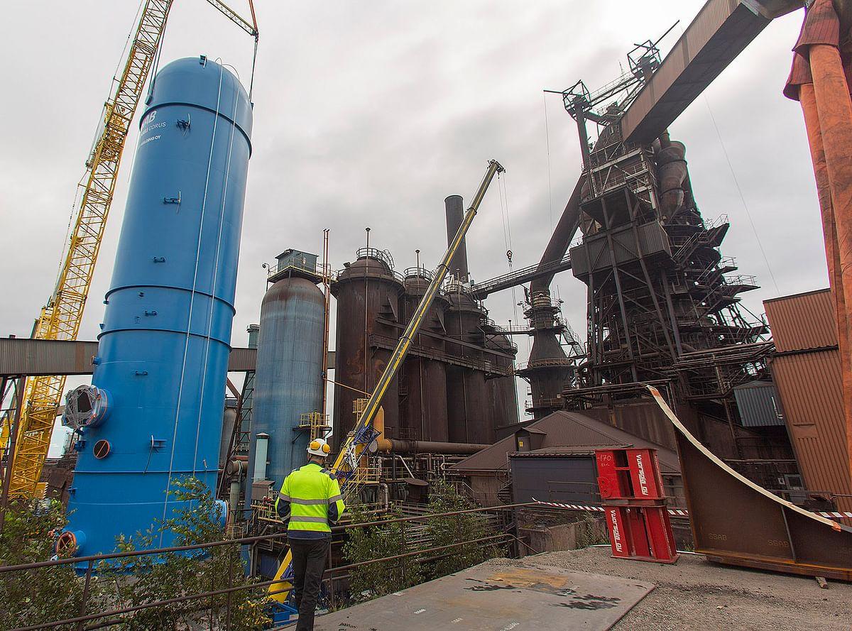 Severstal Completes Environmental Facilities at Blast Furnace 3