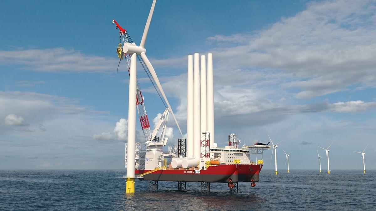 Keppel to Build Wind Turbine Installation Vessel in US