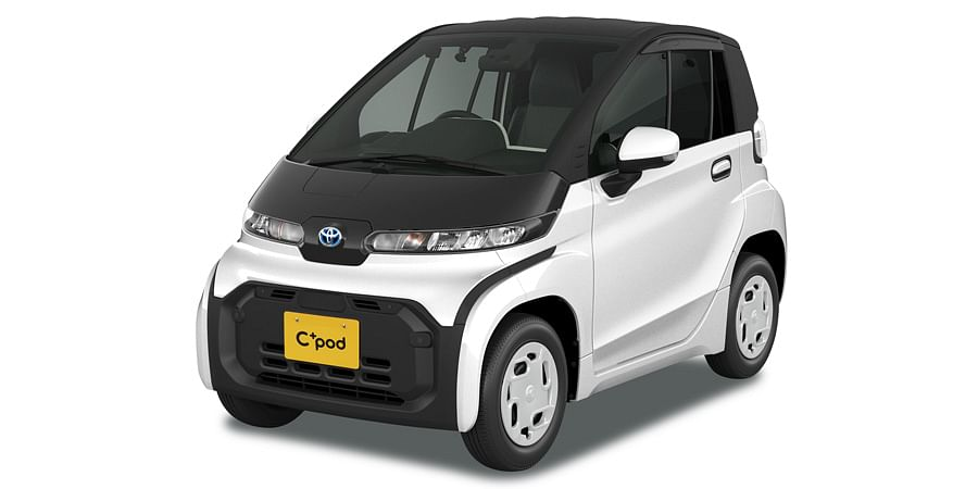 Toyota Launches C+pod Ultra Compact Battery Electric Vehicle