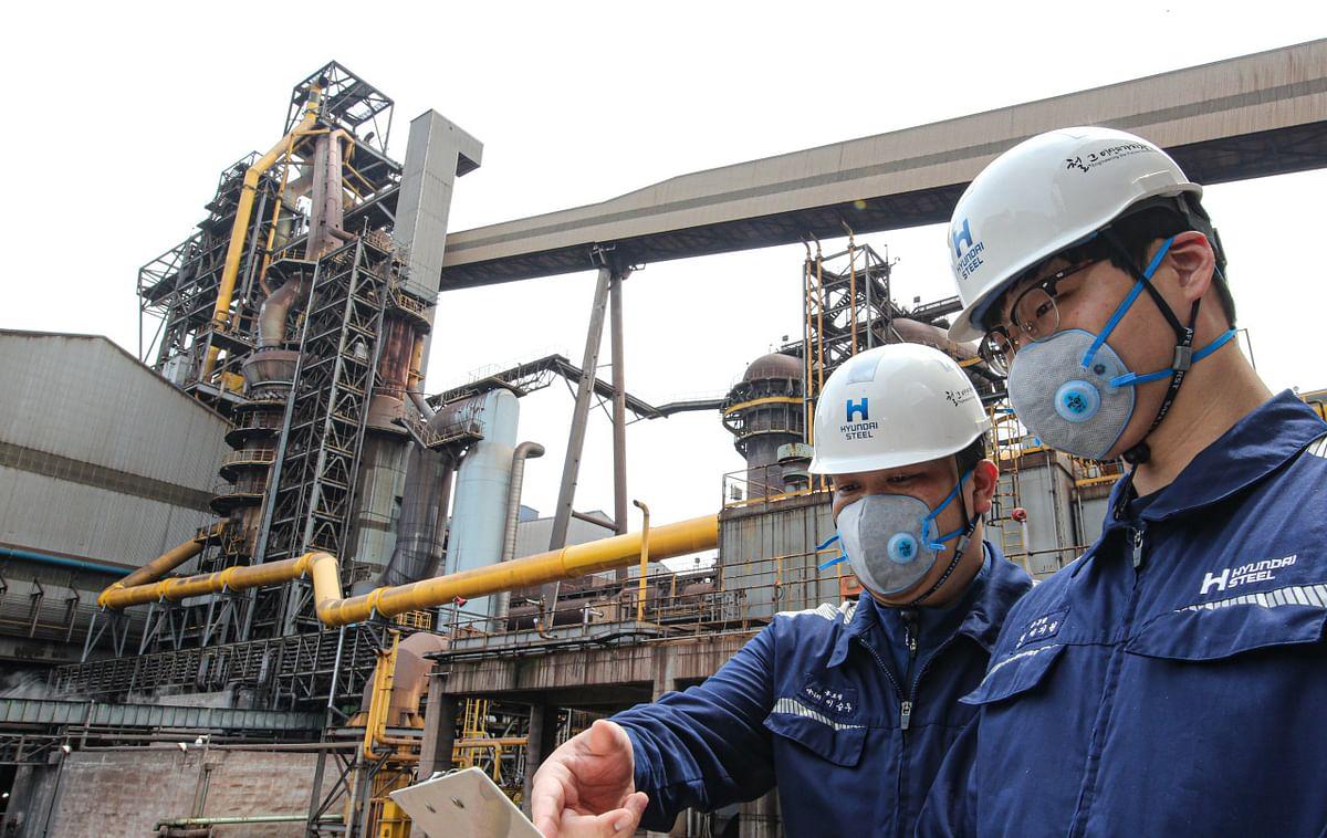 Hyundai Steel Develops First Sagety Valve for BF Gases