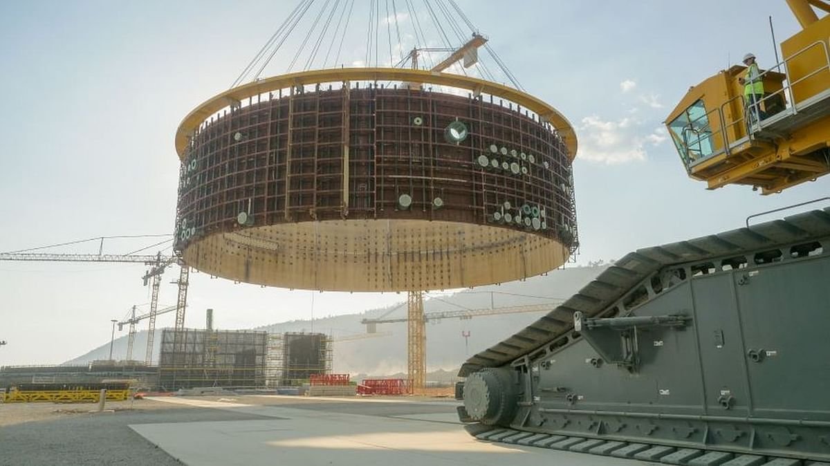 Core Catcher Vessel Installed at Akkuyu NPP Unit 2