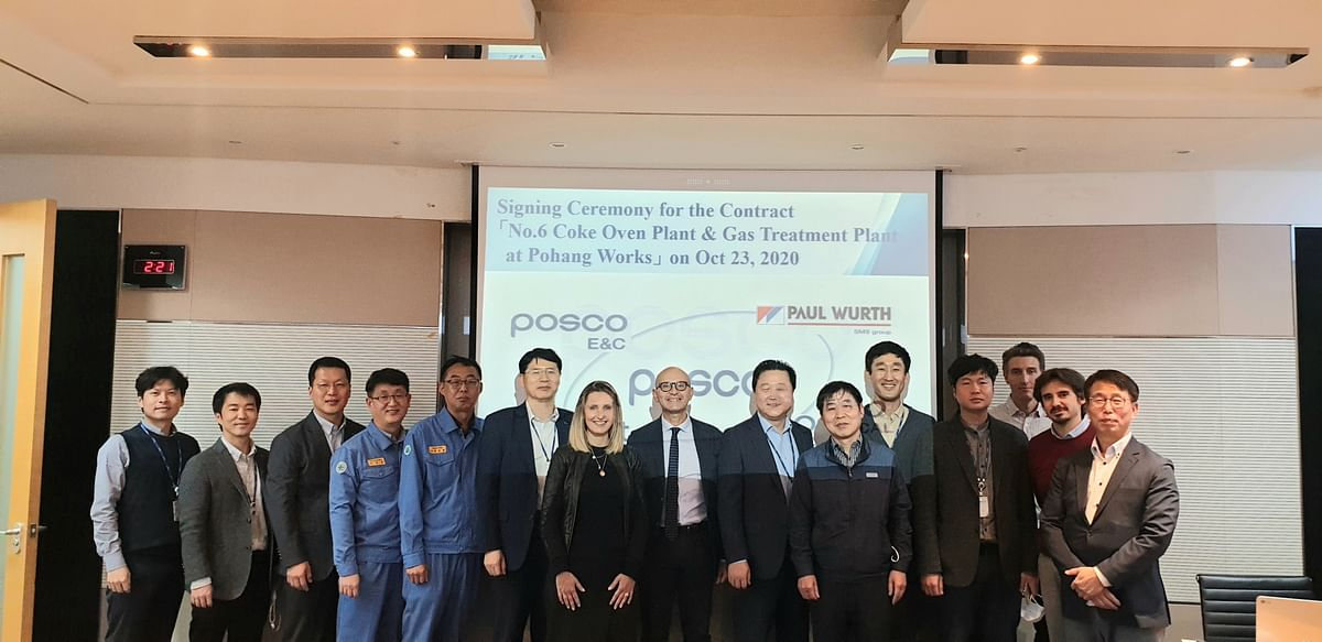 Paul Wurth to Build Coke Oven at Pohang Steelworks of POSCO