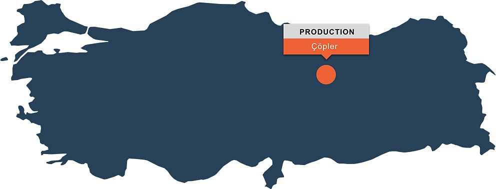 SSR Mining Exploration Results on Copler Project in Turkey