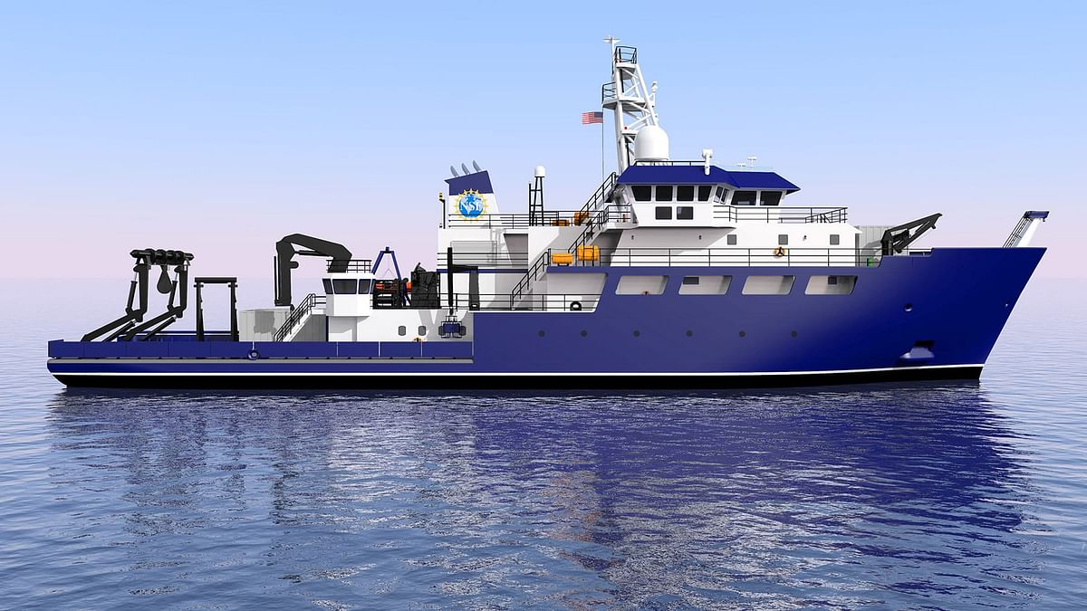Toyota Tsusho Delivers Oceanographic & Fishery Research Vessel