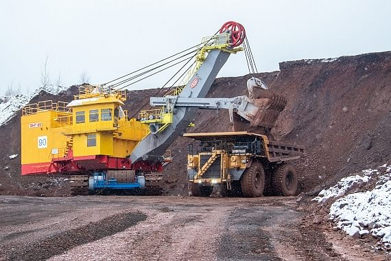 New Excavator Launched at Mikhailovsky GOK
