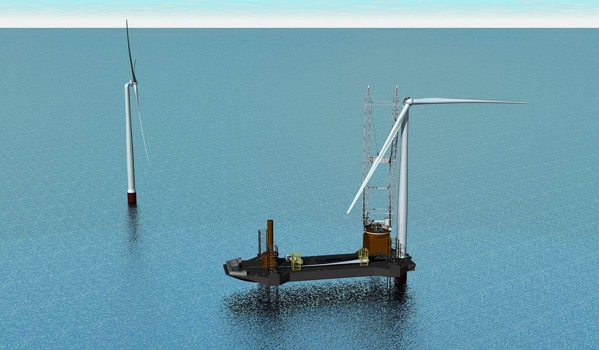 LR & NETSCo to Develop Wind Turbine Installation Vessel