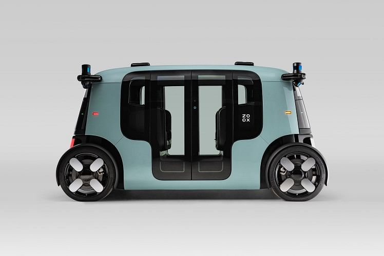 Innovative Robo Taxi with ZF Technology
