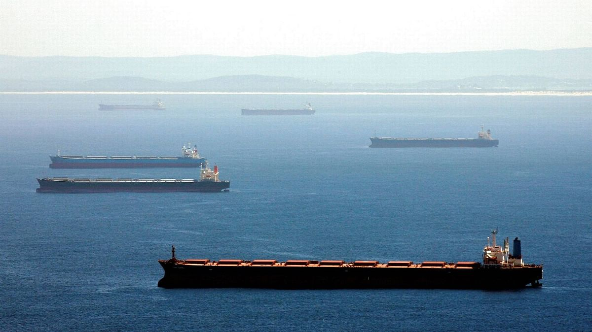 53 Australian Coal Ships Stranded off Chinese Sea Shorelines