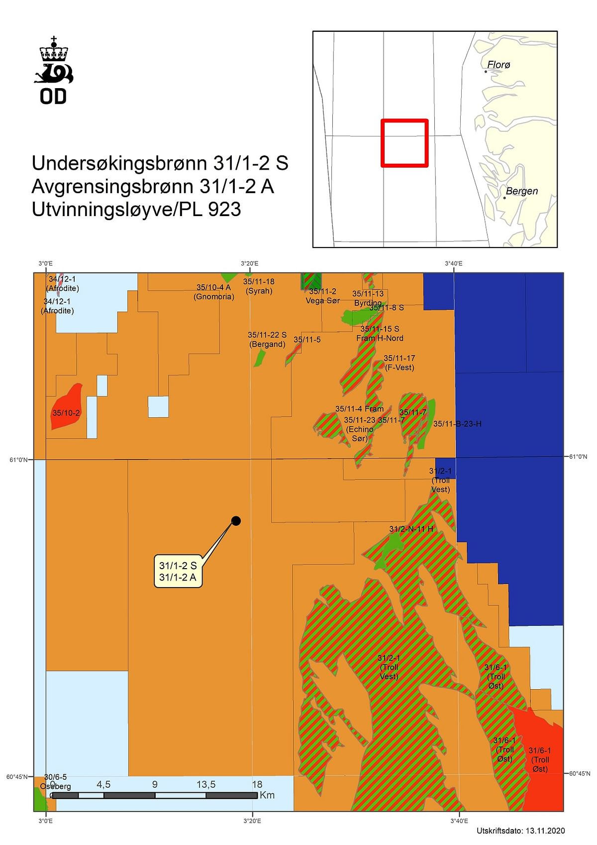 NPD Grants Drilling Permit for Wells in Licence 923 to Equinor