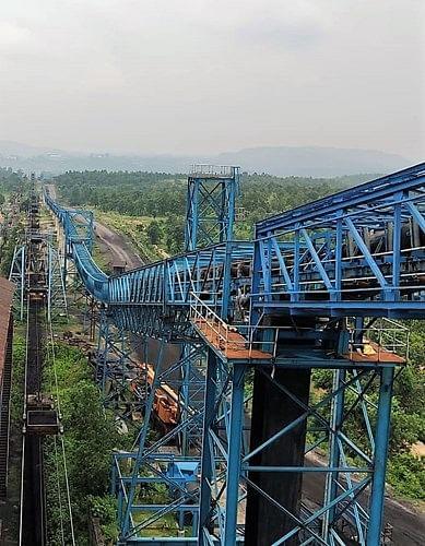 Tata Steel Opens Long Pipe Conveyor at West Bokaro Coal Mine