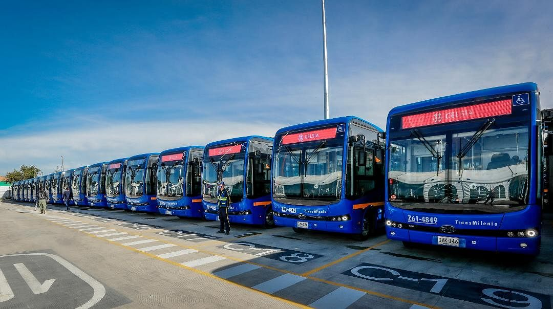 BYD Delivering 470 Electric Bus for Bagota Fleet in Colombia