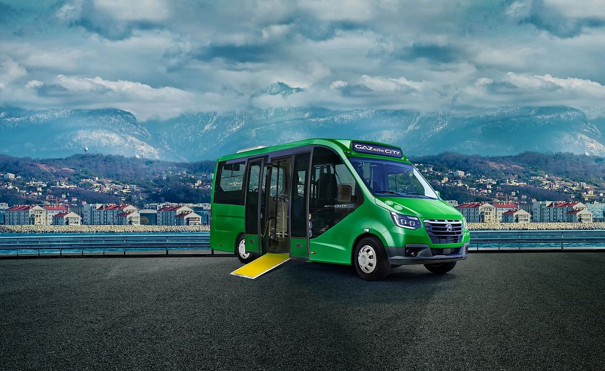 GAZelle City Bus Becomes Best Commercial Vehicle of 2020