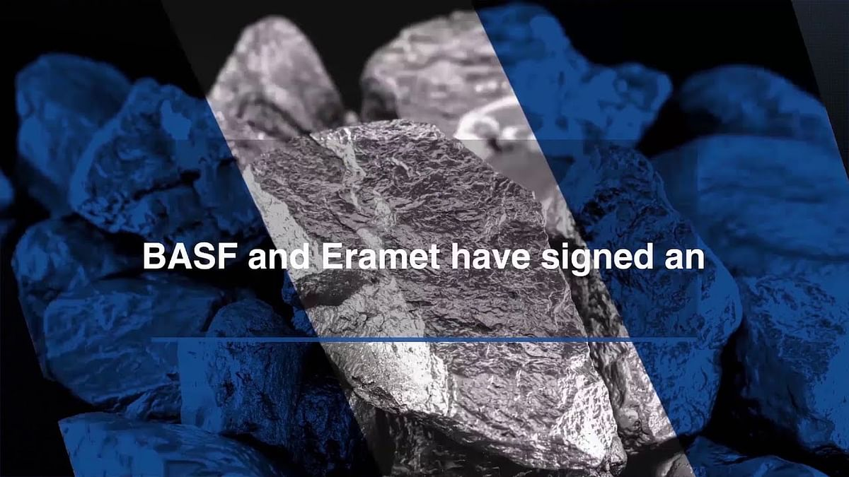 BASF & Eramet to Develop Nickel Cobalt Refining Complex