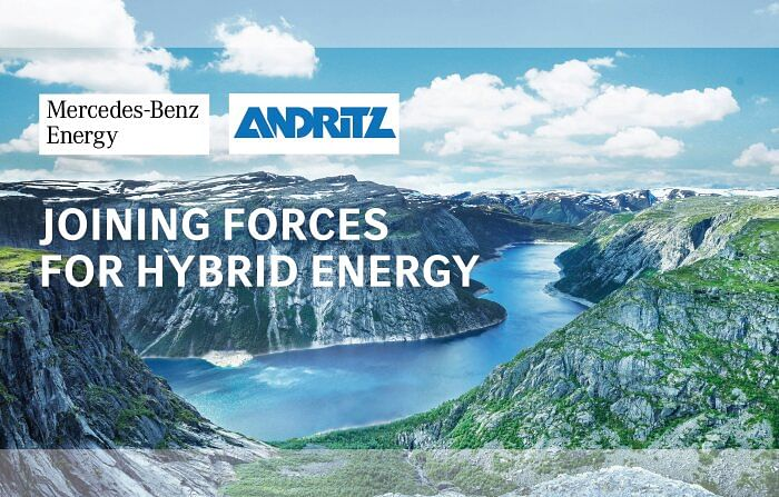 Mercedes Benz Energy & ANDRITZ to Supply Energy Storage Systems
