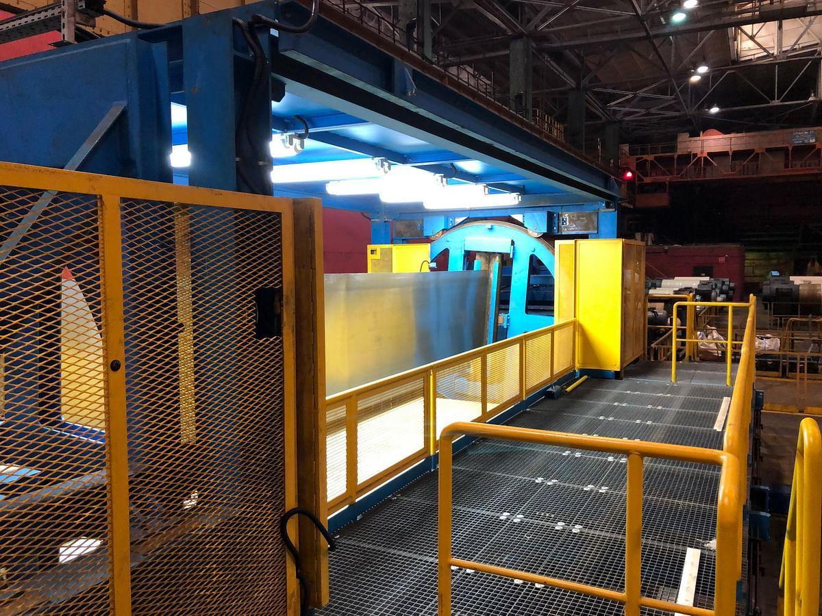 Severstal Installs Surface Inspection System at Cherepovets