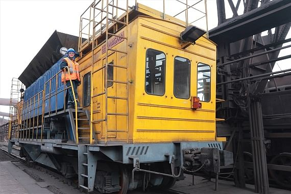 Metalloinvest Ural Steel Launches Iron Ore Transport Car at BF